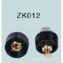 Hot sales Black Cable welding connector ZK012 Male / Female